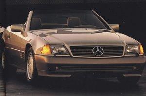 1990 R129 Mercedes 500SL