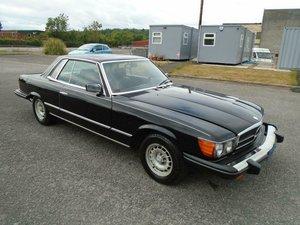 MERCEDES BENZ 450 SLC V8 LHD COUPE(1980) GLOSS BLACK! 74K! SOLD