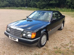 Stunning w124 300ce with only 48,000 miles and fsh