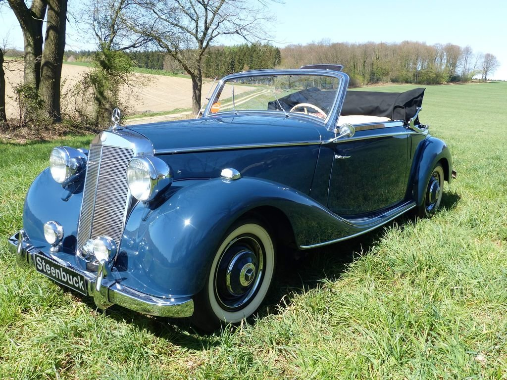 1950 Mercedes-Benz 170 S Convertible A  - MATCHING NUMBERS For Sale (picture 1 of 6)