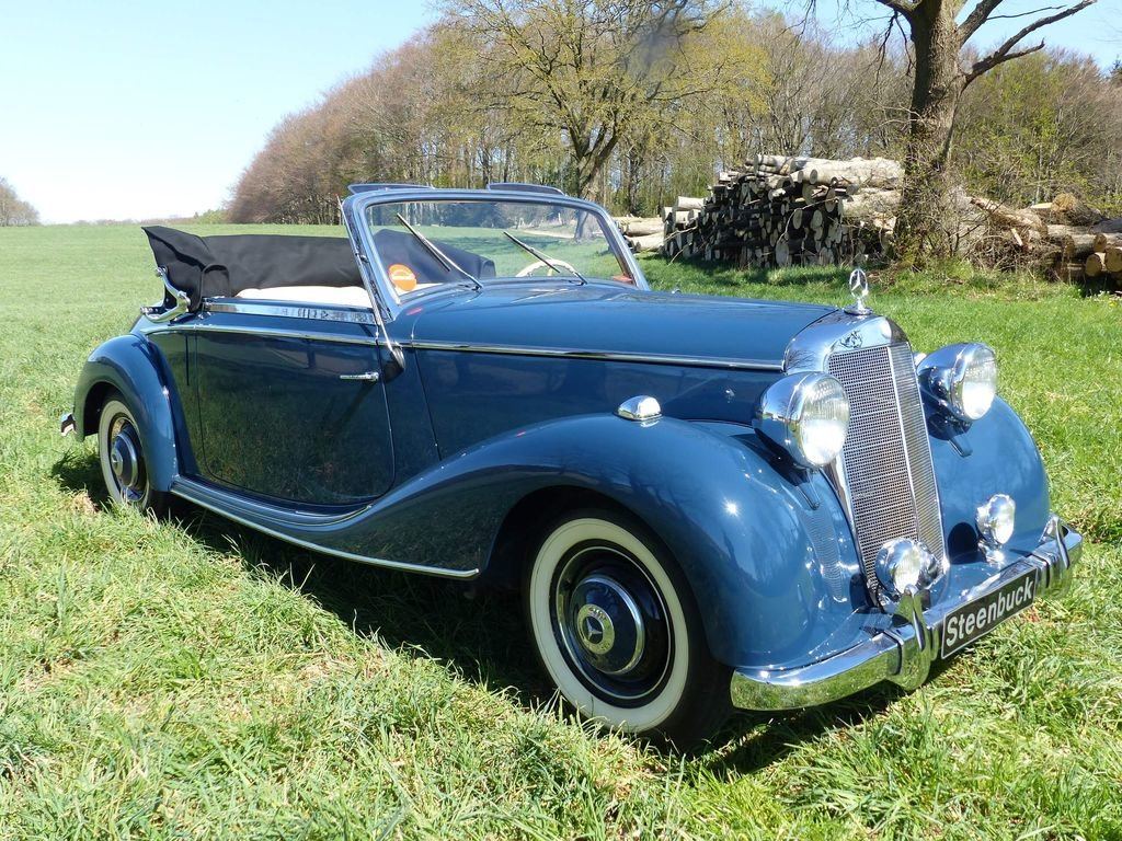 1950 Mercedes-Benz 170 S Convertible A  - MATCHING NUMBERS For Sale (picture 2 of 6)