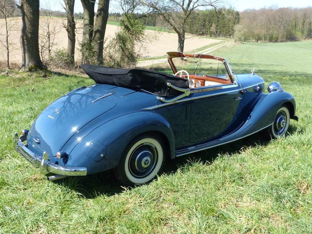1950 Mercedes-Benz 170 S Convertible A  - MATCHING NUMBERS For Sale (picture 4 of 6)
