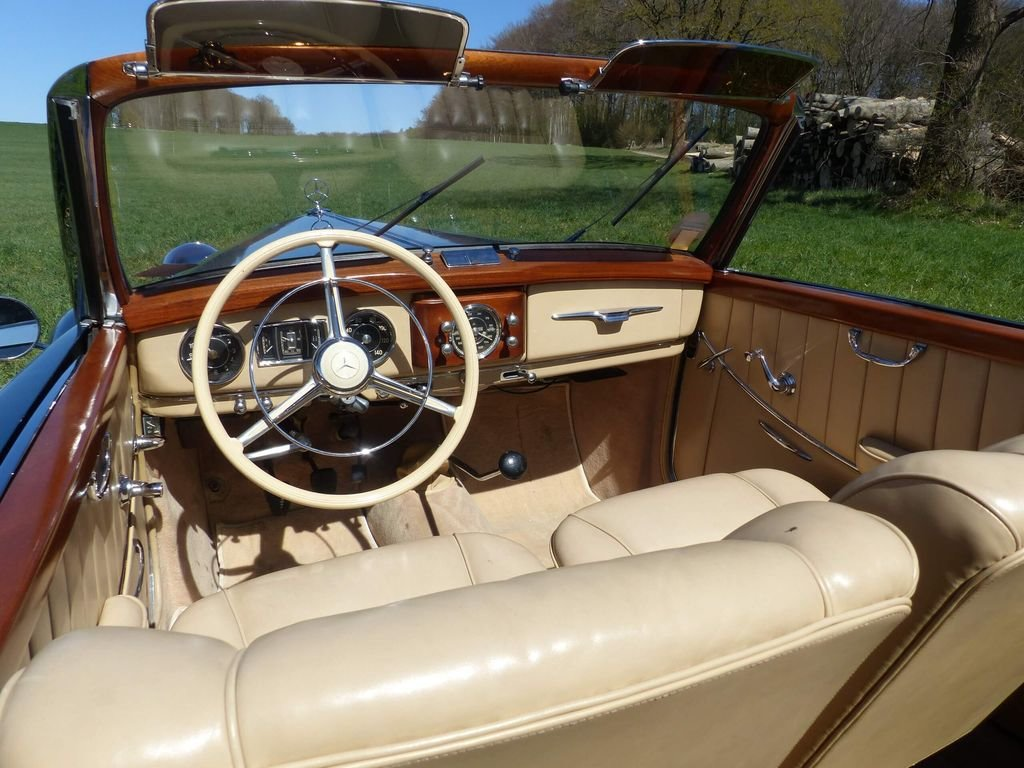 1950 Mercedes-Benz 170 S Convertible A  - MATCHING NUMBERS For Sale (picture 6 of 6)