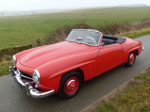 Picture of 1955 Mercedes-Benz 190 SL - from the first year of production