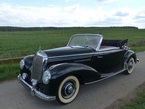"""1952 Mercedes-Benz 220 Convertible A - """"German Wirtschaftswunder"""" For Sale"""