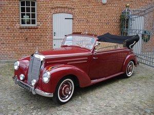 1951 Mercedes-Benz 220 Convertible B - excellent shape For Sale