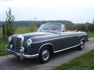 1960 Mercedes-Benz 220 SE Convertible -only 2 owners For Sale