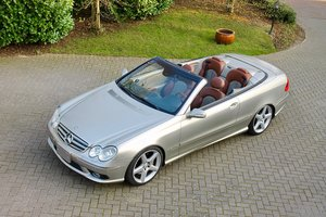 2005 CLK Designo Armani. VERY RARE collectible 1 of 100