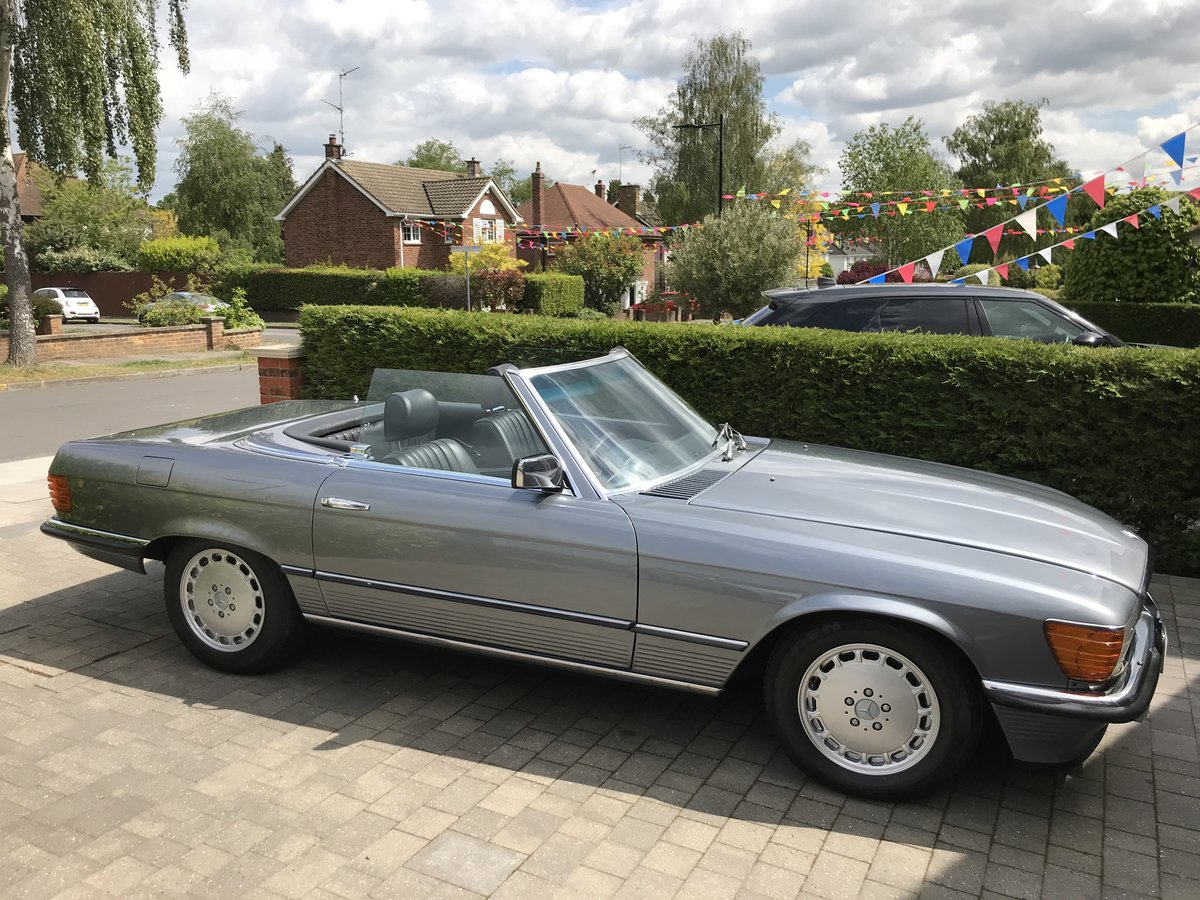 1982 Restored SL  For Sale (picture 1 of 6)