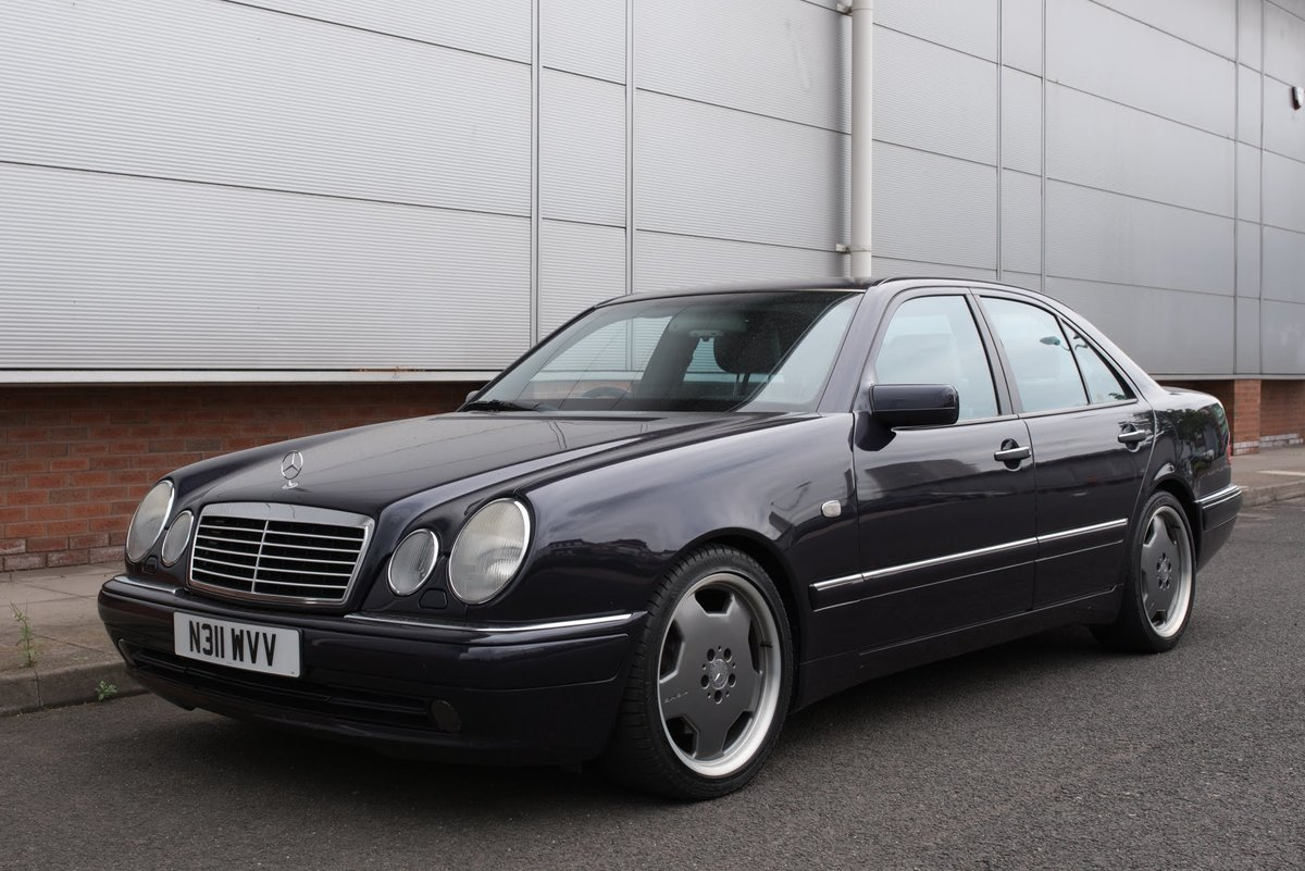 1996 Mercedes-Benz AMG 3.6 E36 Young Timer W210 not E55 For Sale (picture 1 of 6)