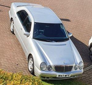 2000 Mercedes w210 auto, e class avantgarde