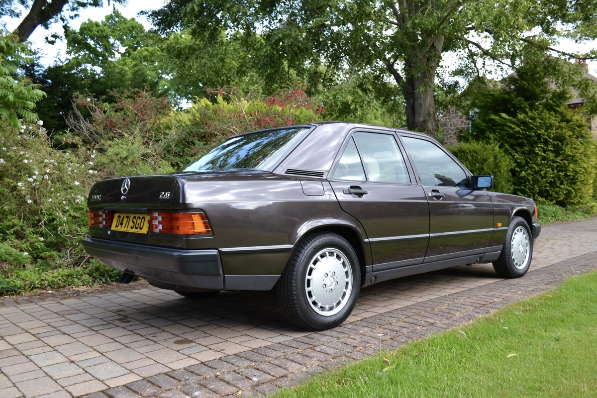 1987 Mercedes 190E 2.6 *SOLD* SOLD (picture 3 of 6)