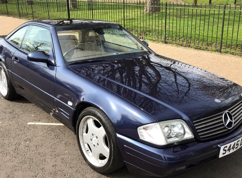 1998 Mercedes Benz SL320, Low mileage, Great condition  SOLD (picture 3 of 6)