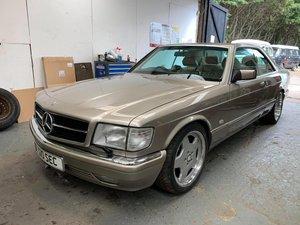 1989 Mercedes 500SEC  SOLD