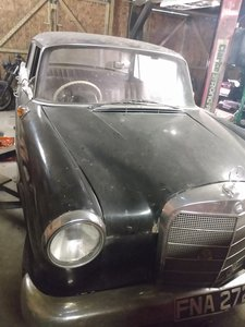 1965 Mercedes 190 Fintail Saloon Restoration Project