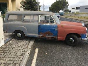 1956 Mercedes Ponton 180 D