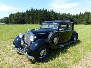1939 Mercedes-Benz 230 Saloon - a true example of the 30s