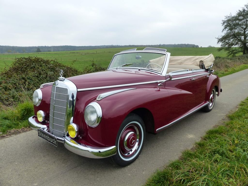 1952 Mercedes-Benz 300 Convertible D - complete history For Sale (picture 1 of 6)