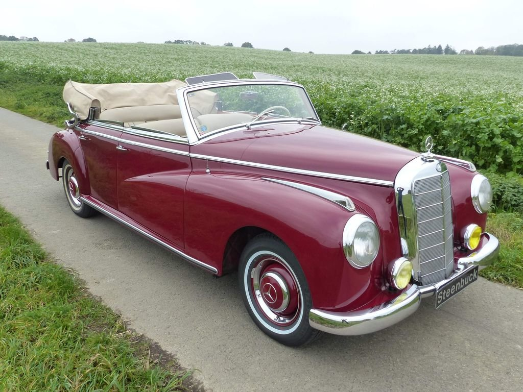 1952 Mercedes-Benz 300 Convertible D - complete history For Sale (picture 2 of 6)