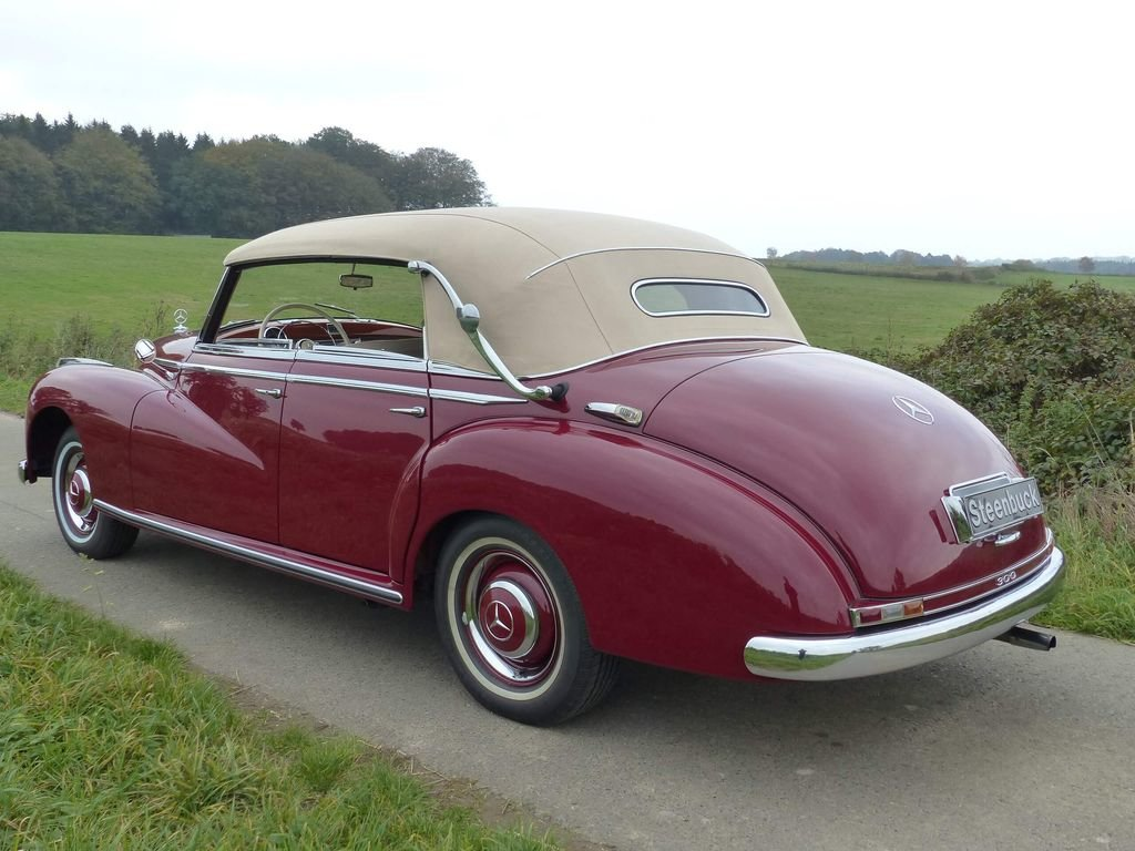 1952 Mercedes-Benz 300 Convertible D - complete history For Sale (picture 3 of 6)