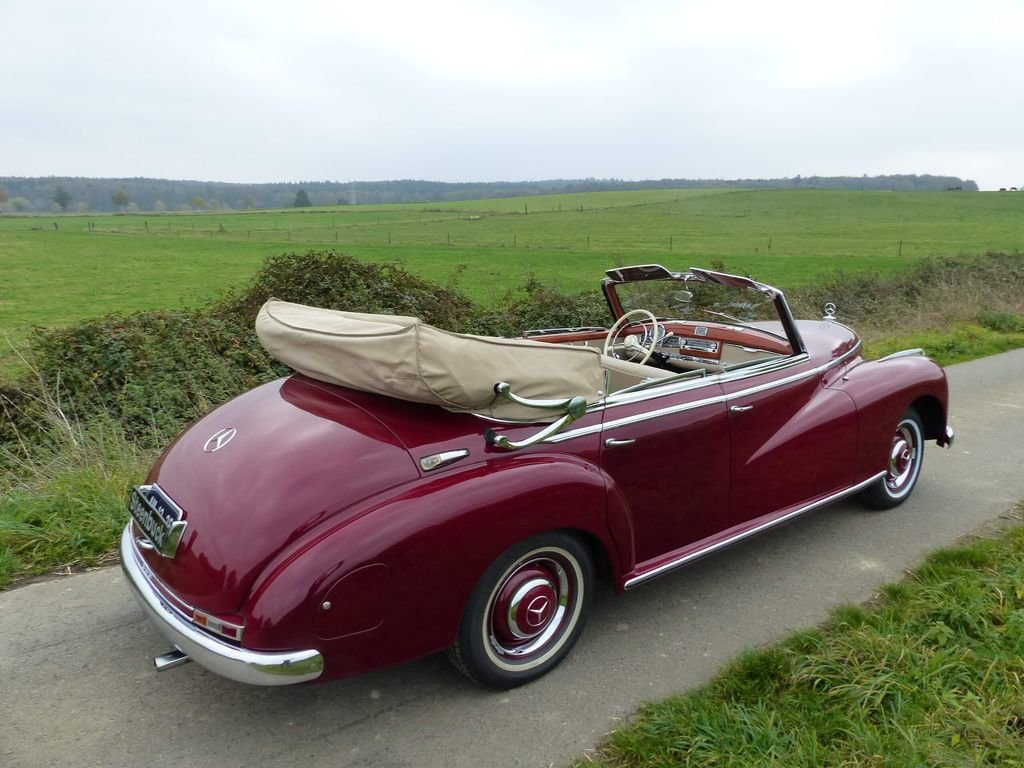 1952 Mercedes-Benz 300 Convertible D - complete history For Sale (picture 4 of 6)