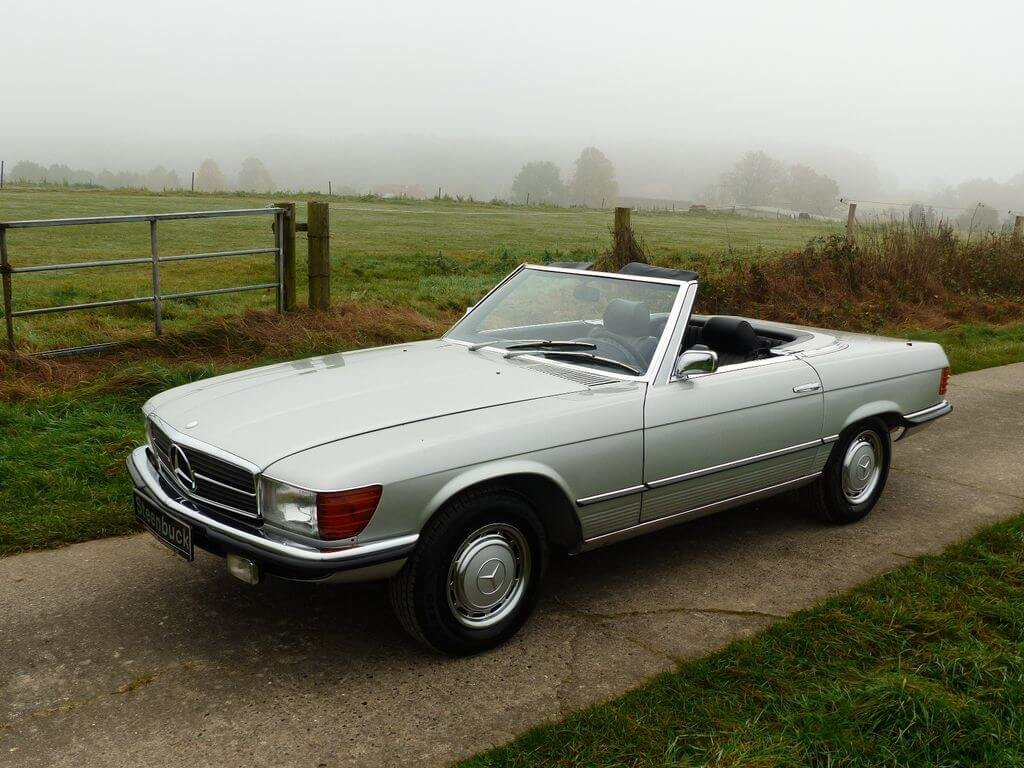 1972 Mercedes-Benz 350 SL - early model manual trasnmission For Sale (picture 1 of 6)