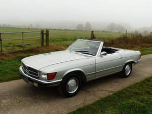 1972 Mercedes-Benz 350 SL - early model manual trasnmission For Sale