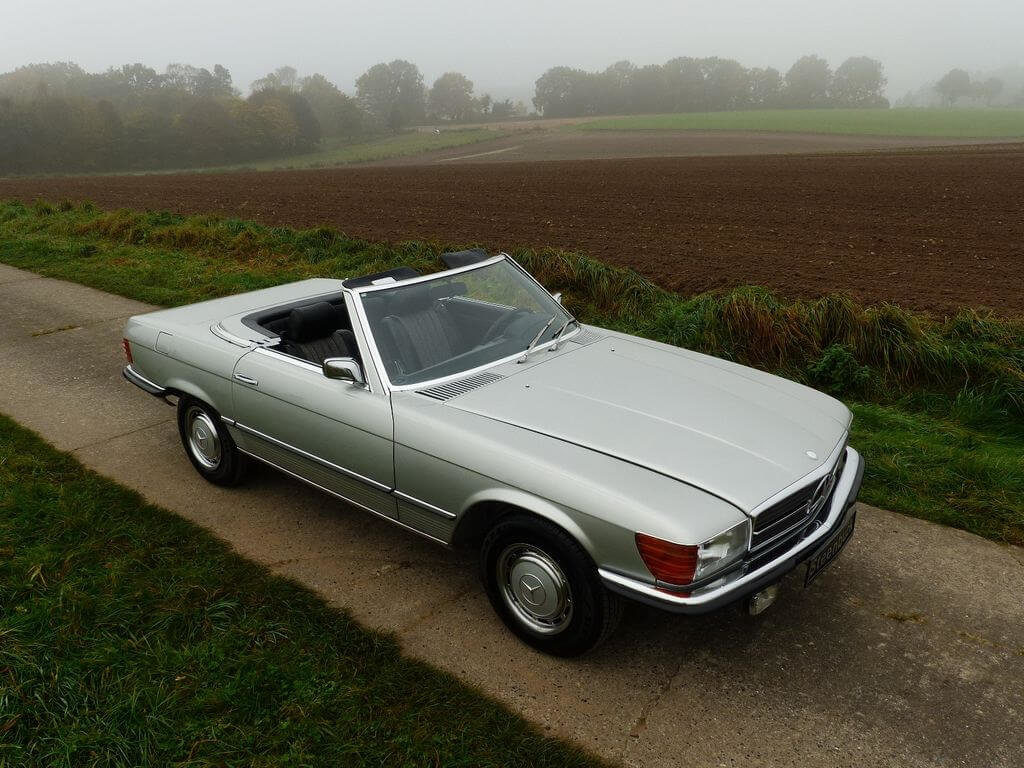 1972 Mercedes-Benz 350 SL - early model manual trasnmission For Sale (picture 2 of 6)