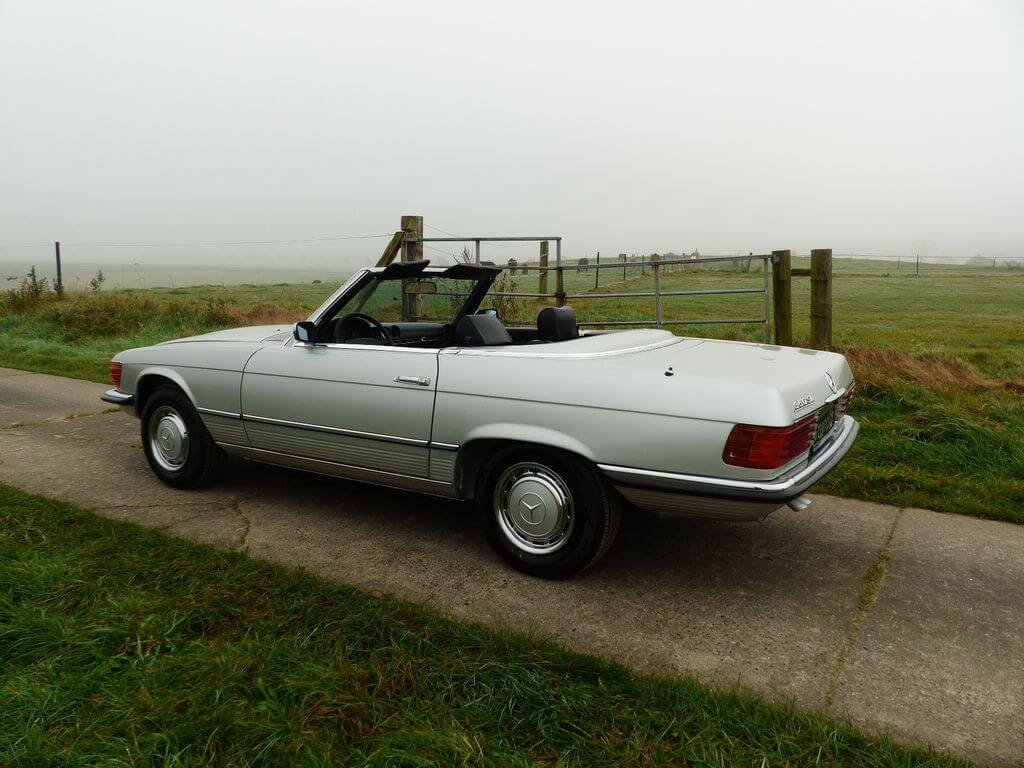 1972 Mercedes-Benz 350 SL - early model manual trasnmission For Sale (picture 3 of 6)