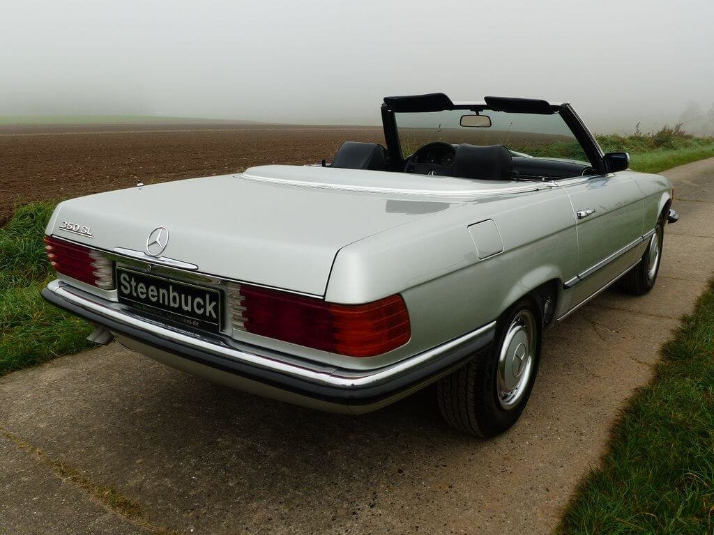 1972 Mercedes-Benz 350 SL - early model manual trasnmission For Sale (picture 4 of 6)