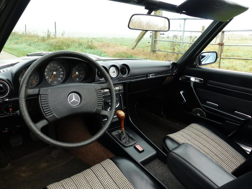 1972 Mercedes-Benz 350 SL - early model manual trasnmission For Sale (picture 6 of 6)