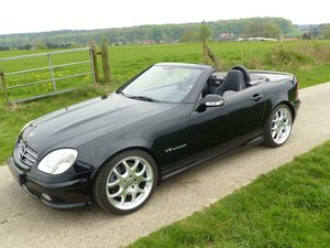 """Mercedes-Benz SLK 32 AMG - """"the wolf in sheep's clothes"""""""