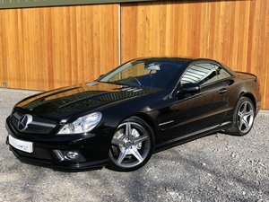 Sl500 5.5 v8+facelift+panoramic+scarf+fsh