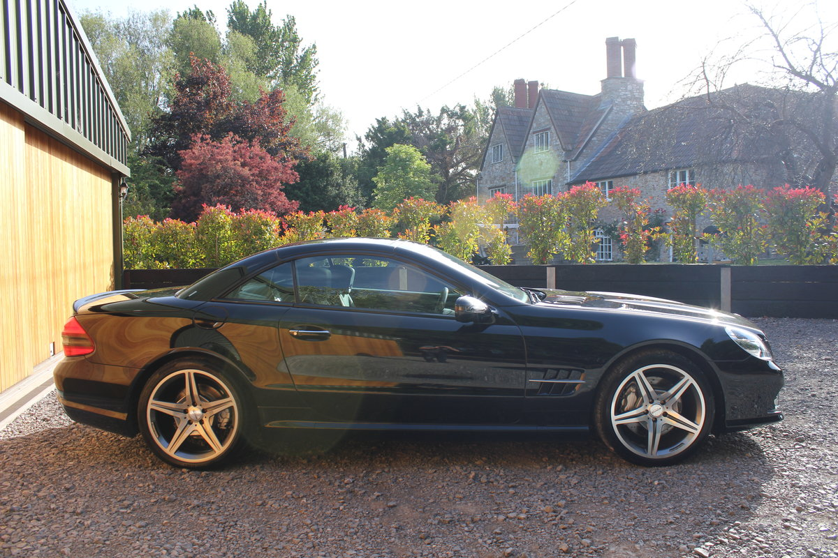 2010 Sl500 5.5 v8+facelift+panoramic+scarf+fsh For Sale (picture 2 of 5)