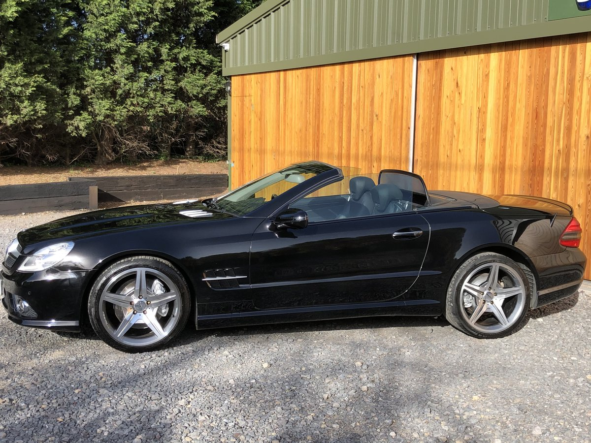 2010 Sl500 5.5 v8+facelift+panoramic+scarf+fsh For Sale (picture 4 of 5)