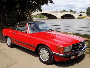 1989 MERCEDES 300SL AUTO SPORTS CONVERTIBLE