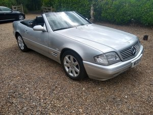 2000 Mercedes SL 280 Auto (R129) Auction 16th - 17th July SOLD by Auction