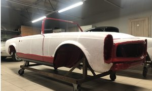 MB 230SL W113 RHD 1964R PROJECT For Sale