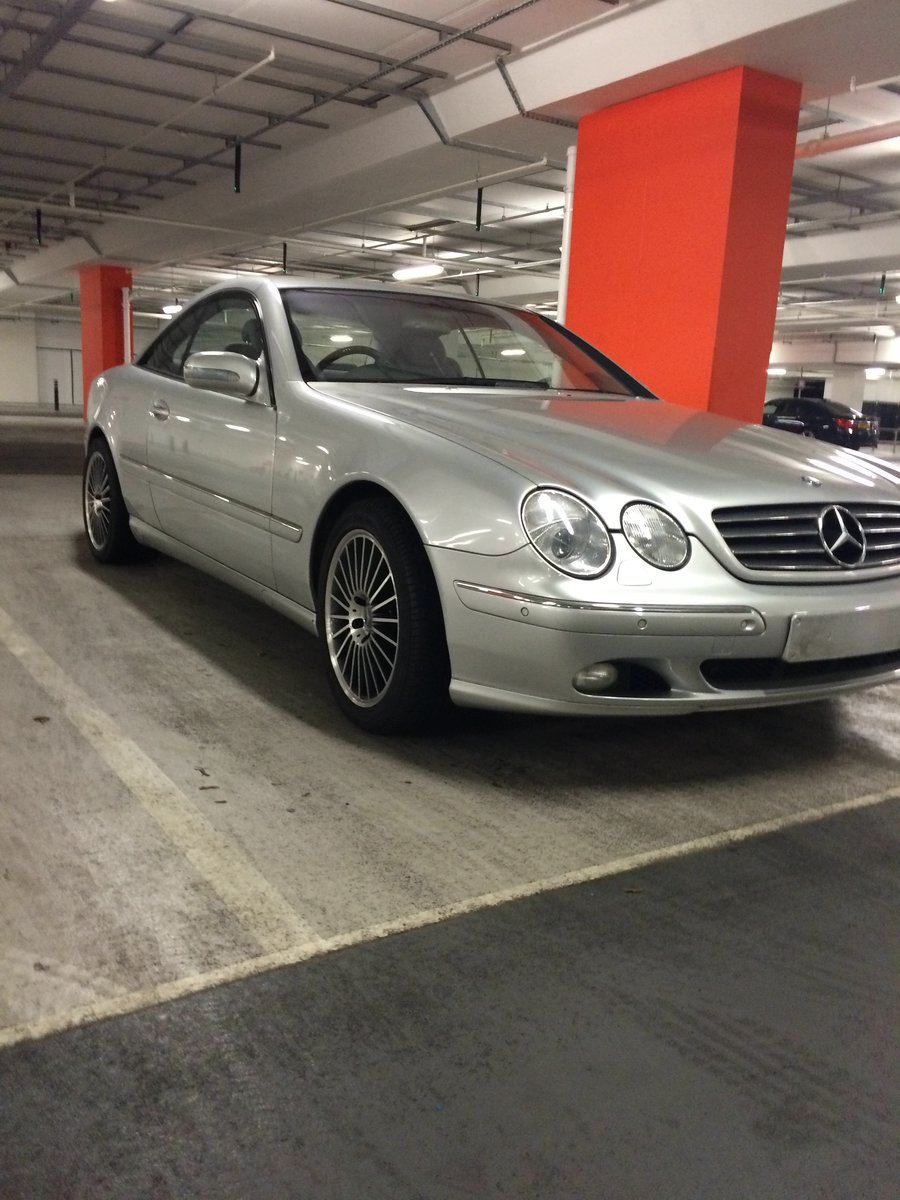 2002 Modern classic CL500 (Low Mileage) For Sale (picture 5 of 5)