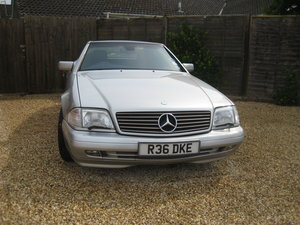 Mercedes SL320 38000 miles .  NOW SOLD