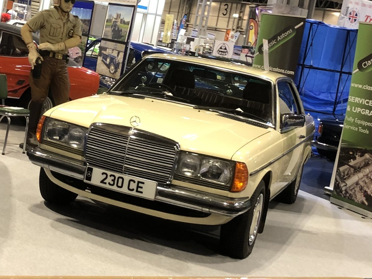 1983 Mercedes 230CE SOLD (picture 5 of 6)
