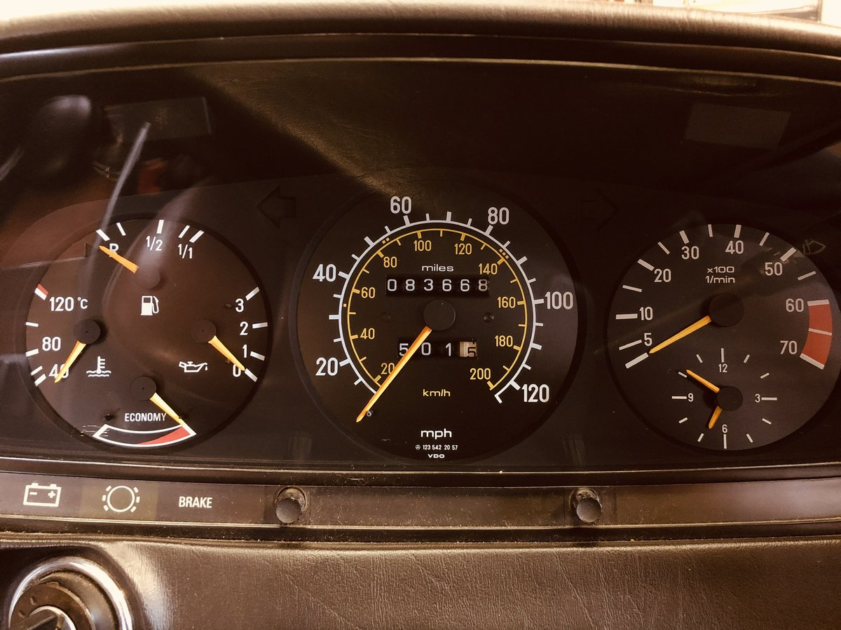 1983 Mercedes 230CE SOLD (picture 6 of 6)