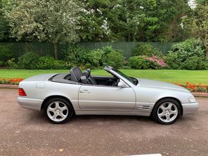 Mercedes 280SL 2000 W Reg Silver Black Leather 43k