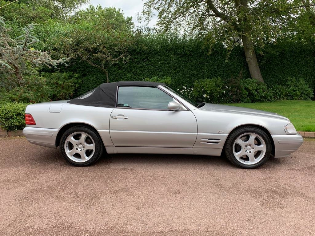 Mercedes 280SL 2000 W Reg Silver Black Leather 43k For Sale (picture 2 of 6)