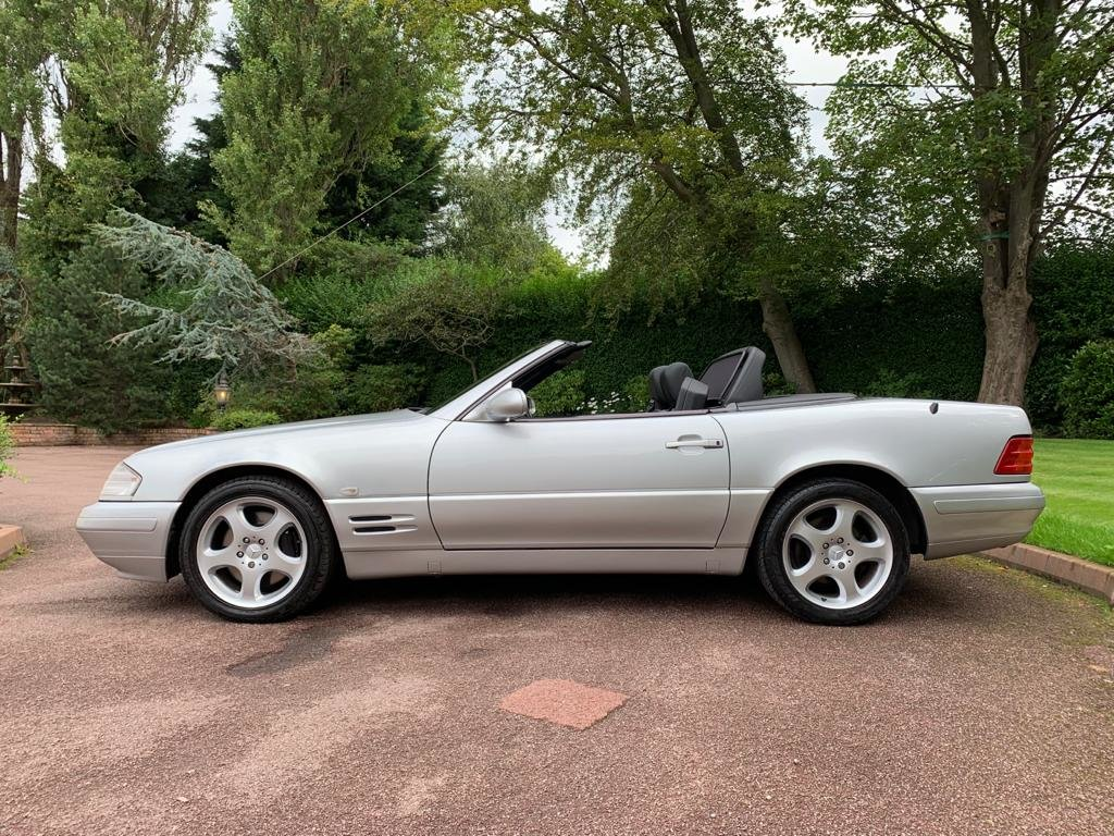 Mercedes 280SL 2000 W Reg Silver Black Leather 43k For Sale (picture 3 of 6)