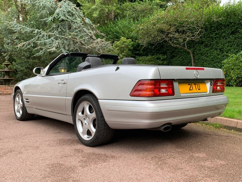 Mercedes 280SL 2000 W Reg Silver Black Leather 43k For Sale (picture 4 of 6)