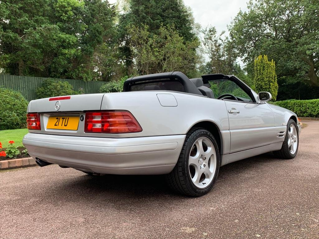 Mercedes 280SL 2000 W Reg Silver Black Leather 43k For Sale (picture 5 of 6)