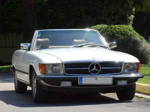 1983 Mercedes-Benz 380 SL, original 46220km, 1-owner