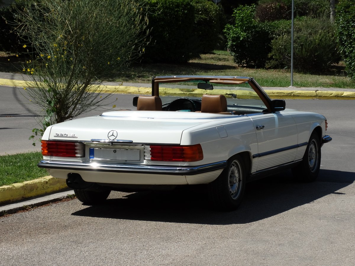 1983 Mercedes-Benz 380 SL, original 46220km, 1-owner For Sale (picture 2 of 6)