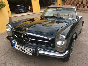 1969 Mercedes Benz 280 SL with Aut